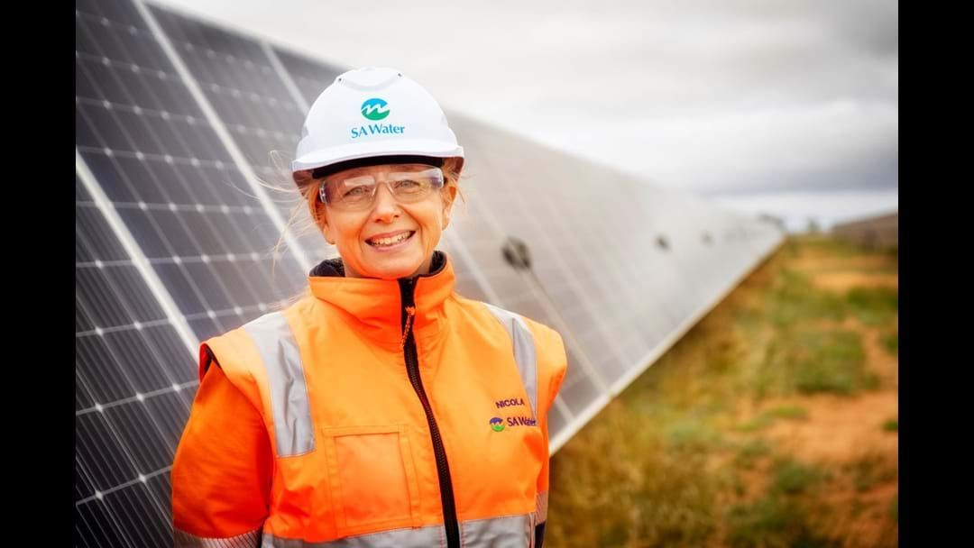 Article heading image for Gambier goes green to power SA Water assets