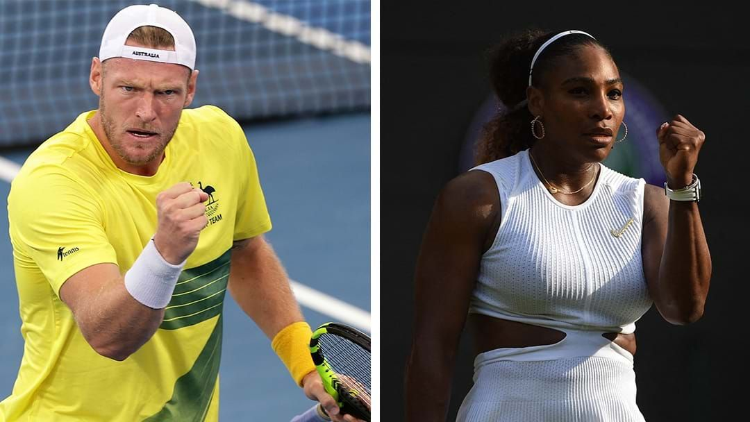 Article heading image for LISTEN | Sam Groth Explains His Serena Williams Comments