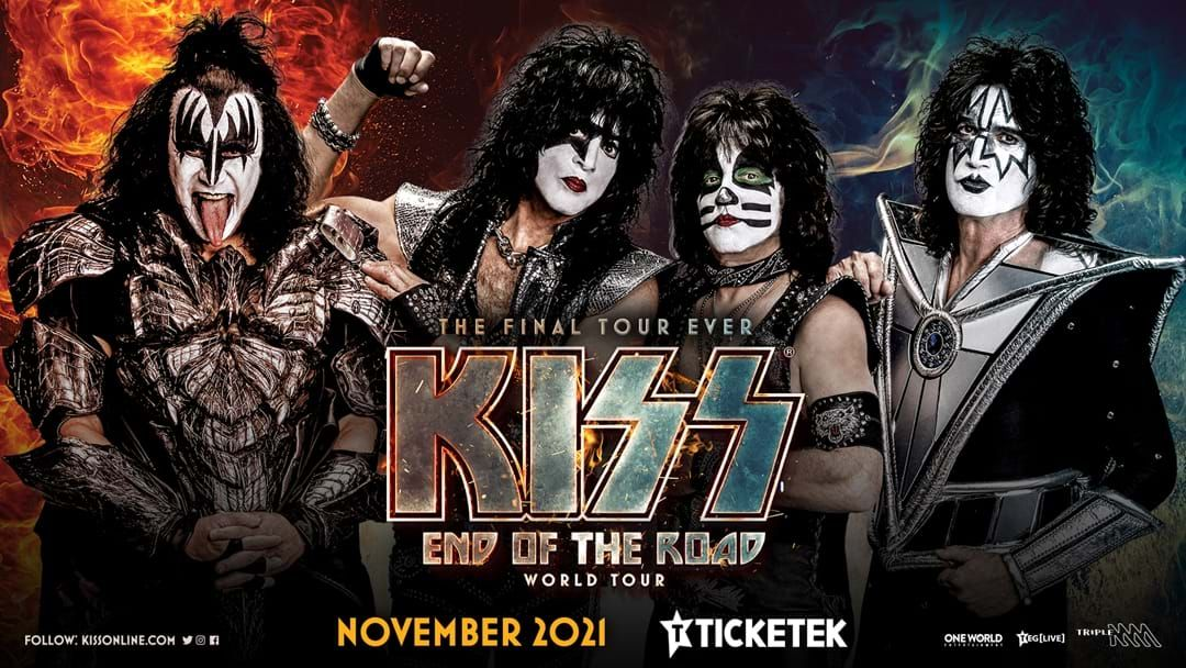 Article heading image for KISS Add More Dates To Their End Of The Road Australian Tour