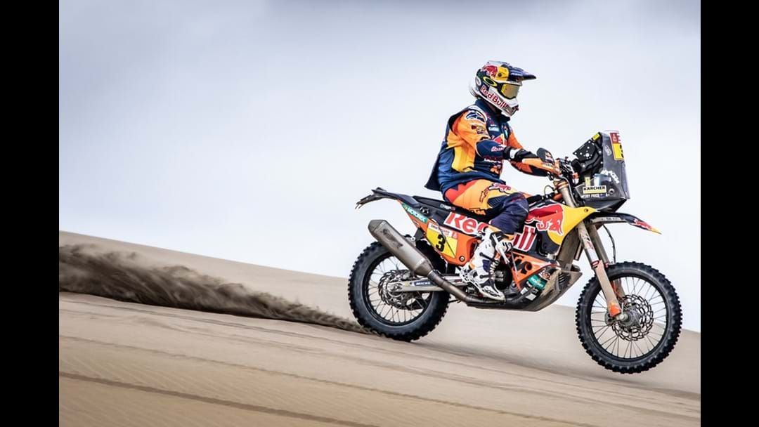 Article heading image for Toby Price Leads Dakar Rally With 1 Stage To Go