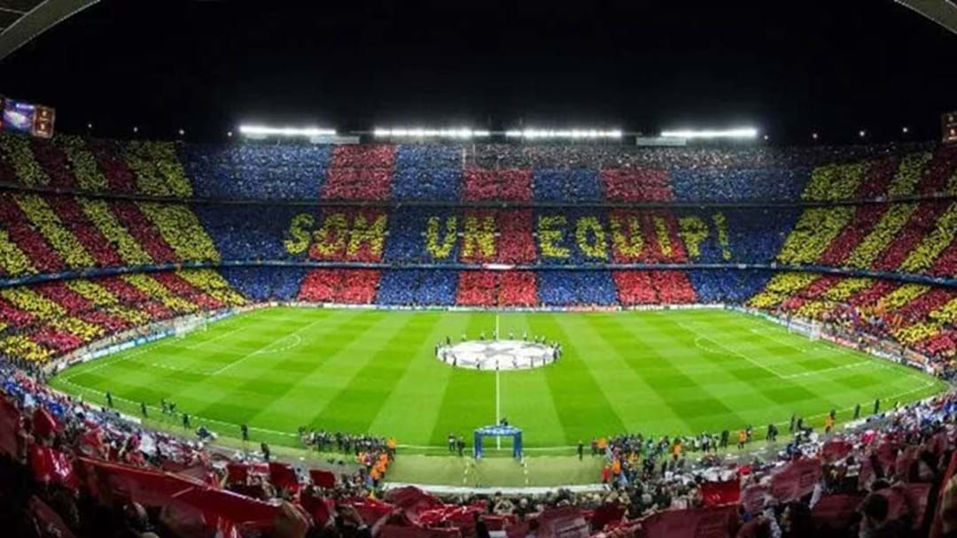 Article heading image for Footy Game Confirmed For Barcelona's Camp Nou