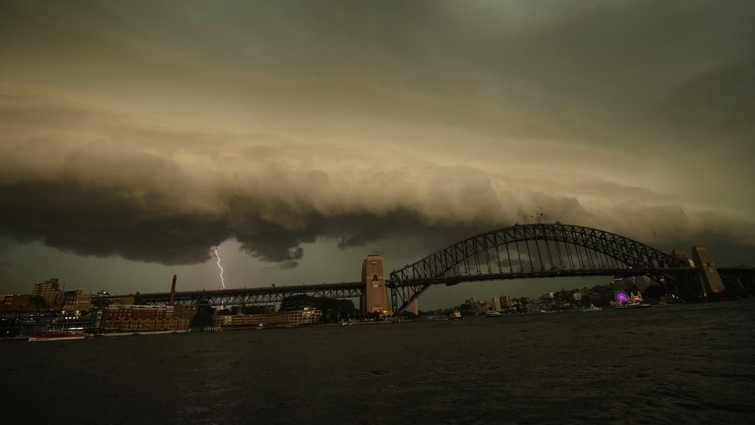 Article heading image for Severe Thunderstorm Warning Issued For Sydney