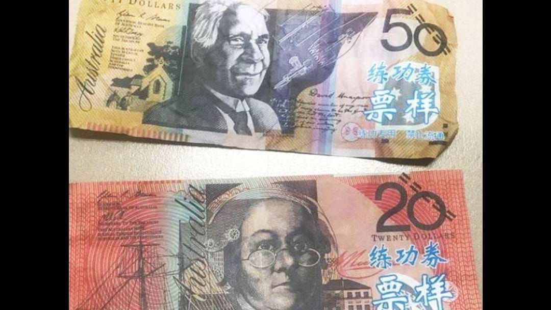 Article heading image for Counterfeit money reported in the Riverina district