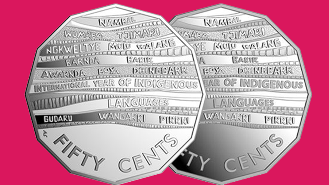 Article heading image for Australian Mint Has Launched Limited Edition Fifty Cent Coins For Indigenous Language Month