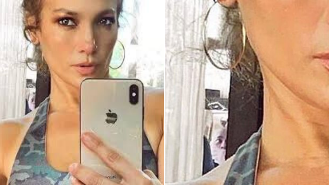 "Article heading image for Who The ""Scary Man"" In The Background Of JLo's Selfie Is Has Been SOLVED!"
