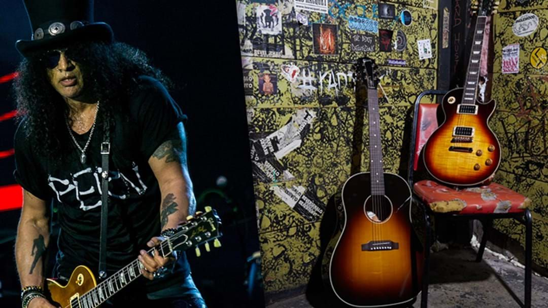 """Article heading image for Gibson Announce """"Slash Collection"""" Of Rock Guitars"""