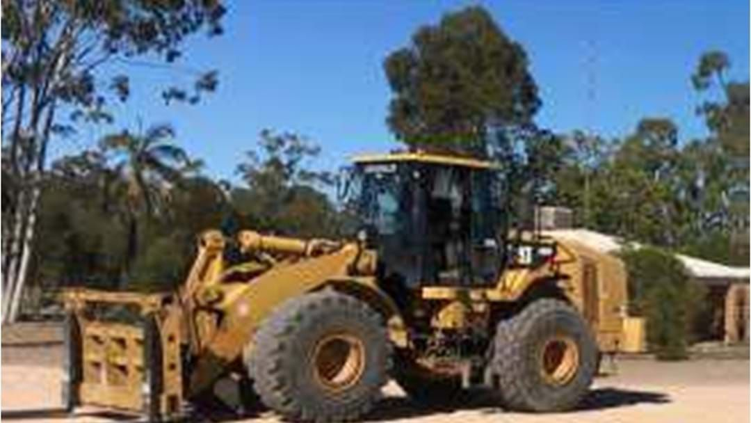 Article heading image for Be On The Lookout for This Loader Stolen from Miles