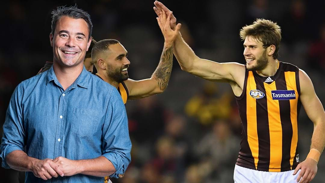 Article heading image for LISTEN | Jay Clark Says That Brisbane Want Grant Birchall To Replace Luke Hodge