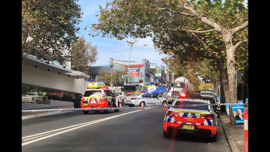 Article heading image for Pedestrian Killed In Cement Truck Crash In Crows Nest