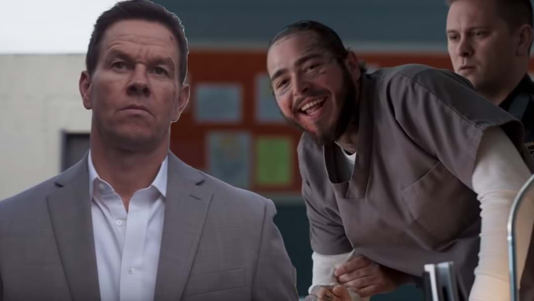 Article heading image for Post Malone Gets Beat Up By Mark Wahlberg In His First Acting Role