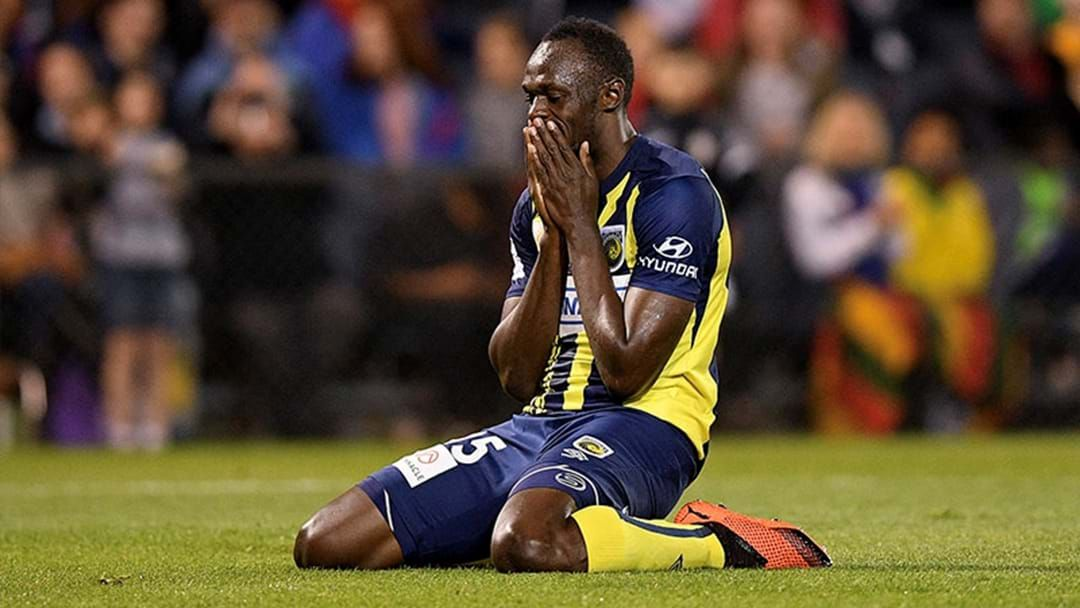 Article heading image for Central Coast Mariners Confirm That Usain Bolt Will Not Play In The A-League This Season