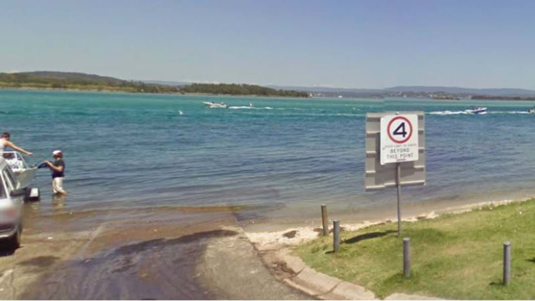 Article heading image for Car drives off boat ramp in Woy Woy