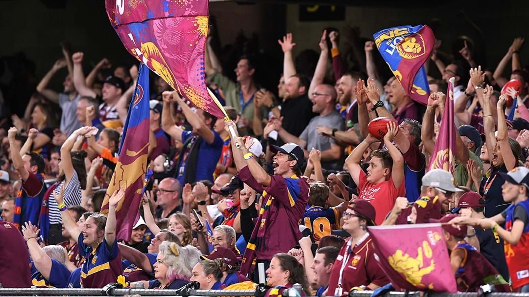 Article heading image for Brisbane Has Sold Out A Game At The Gabba For The First Time In Nine Years