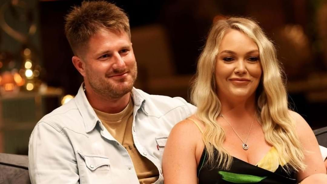 Article heading image for MAFS' Bryce Says He Has Confirmation He & Melissa Were Targeted By Producers