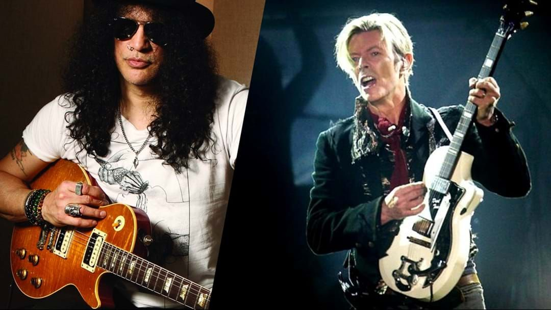 Article heading image for Slash Remembers David Bowie
