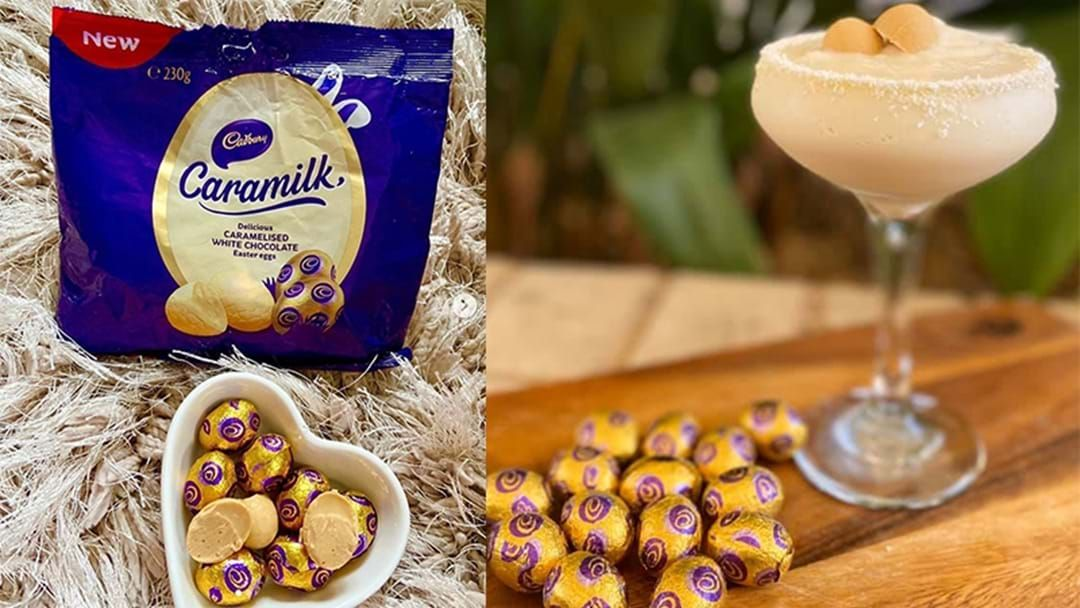 Article heading image for A Limited Edition Frozen Caramilk Cocktail Has Arrived & It's Only $10