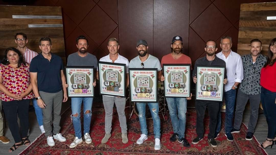 """Article heading image for Old Dominion's Sophomore Album """"Happy Endings"""" Certified Gold"""