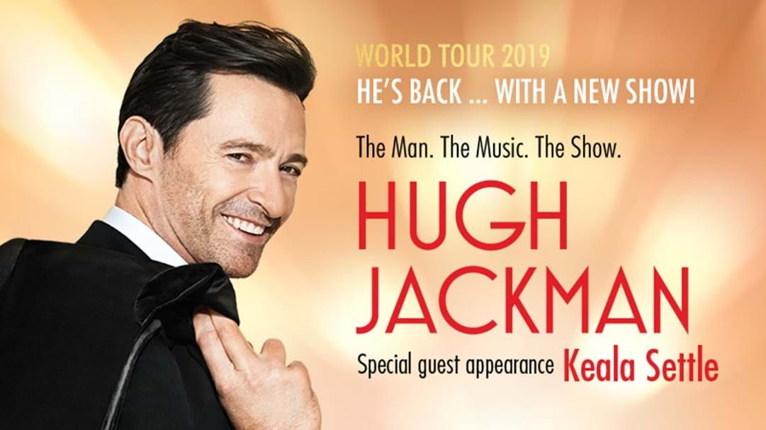 Win tickets to see Hugh Jackman from your own private suite!