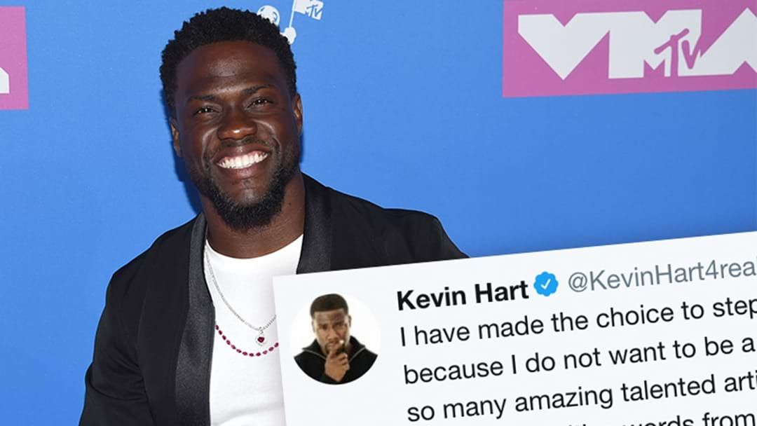 Article heading image for Kevin Hart Steps Down From Hosting The Oscars