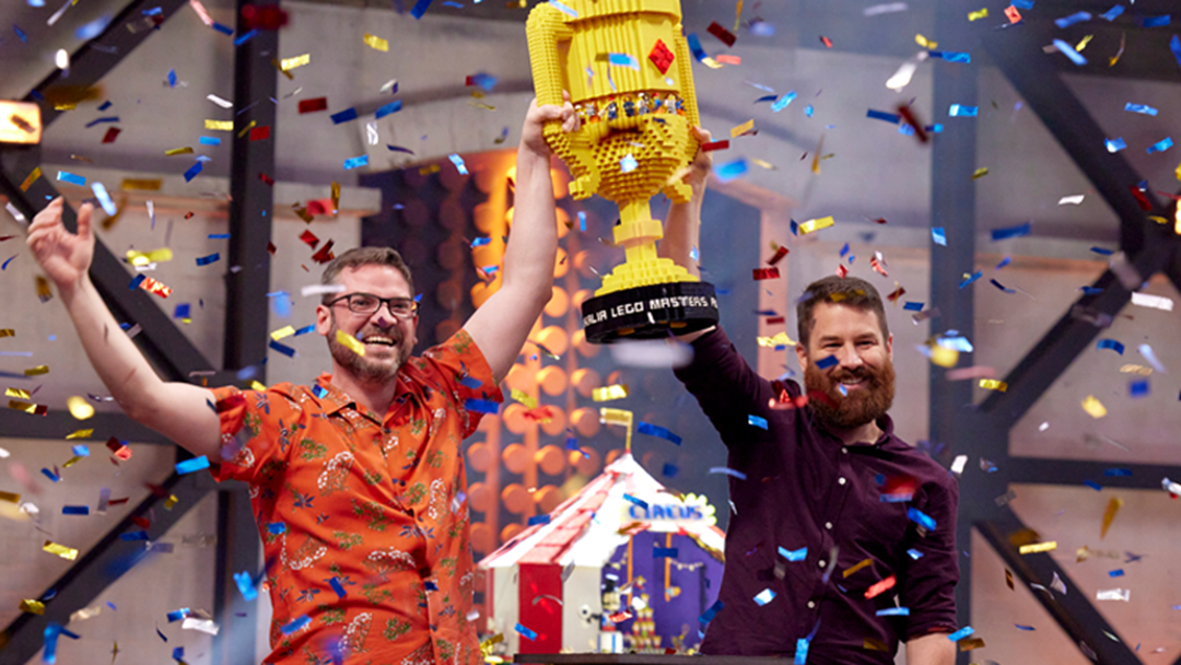 Article heading image for 'LEGO Masters' Winners David & Gus Address Comments They Received More Help From Brickman