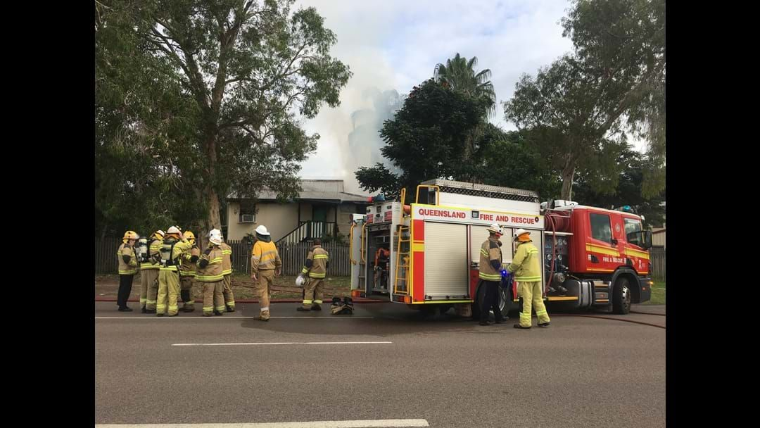 Article heading image for Several Crews Called Out As Railway Estate Home Goes Up In Flames