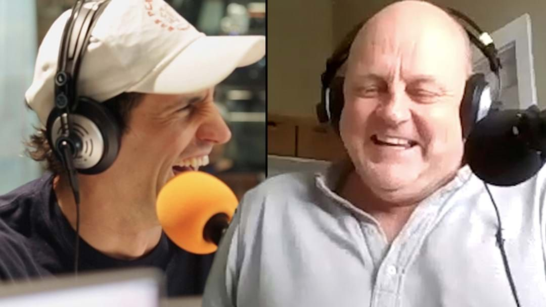 Article heading image for Billy Brownless Welcomes Andy Lee To The Show With A Hamish & Andy Sledge