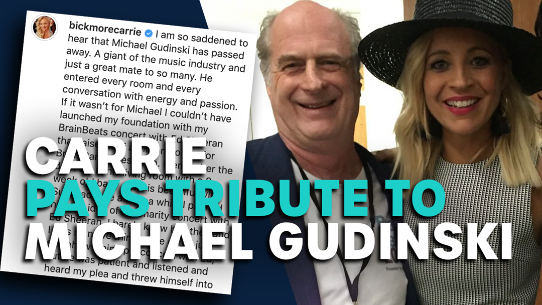 Article heading image for Carrie Pays Tribute To Michael Gudinski