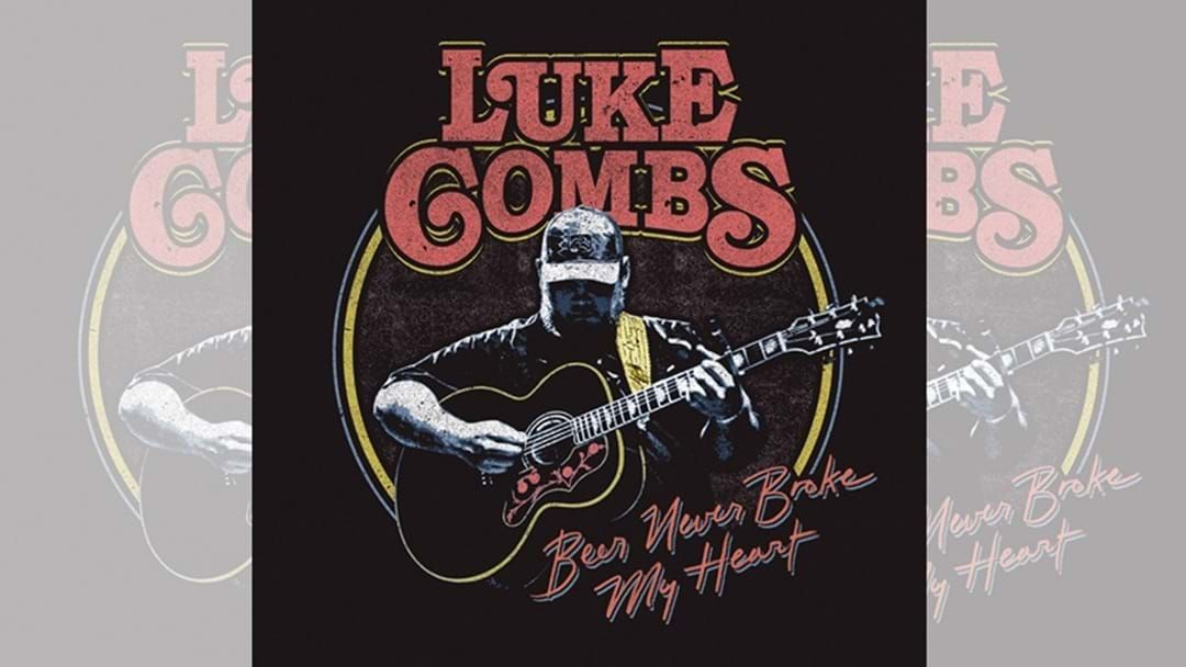 "Article heading image for Luke Combs ""Beer Never Broke My Heart"" is OUT NOW!"