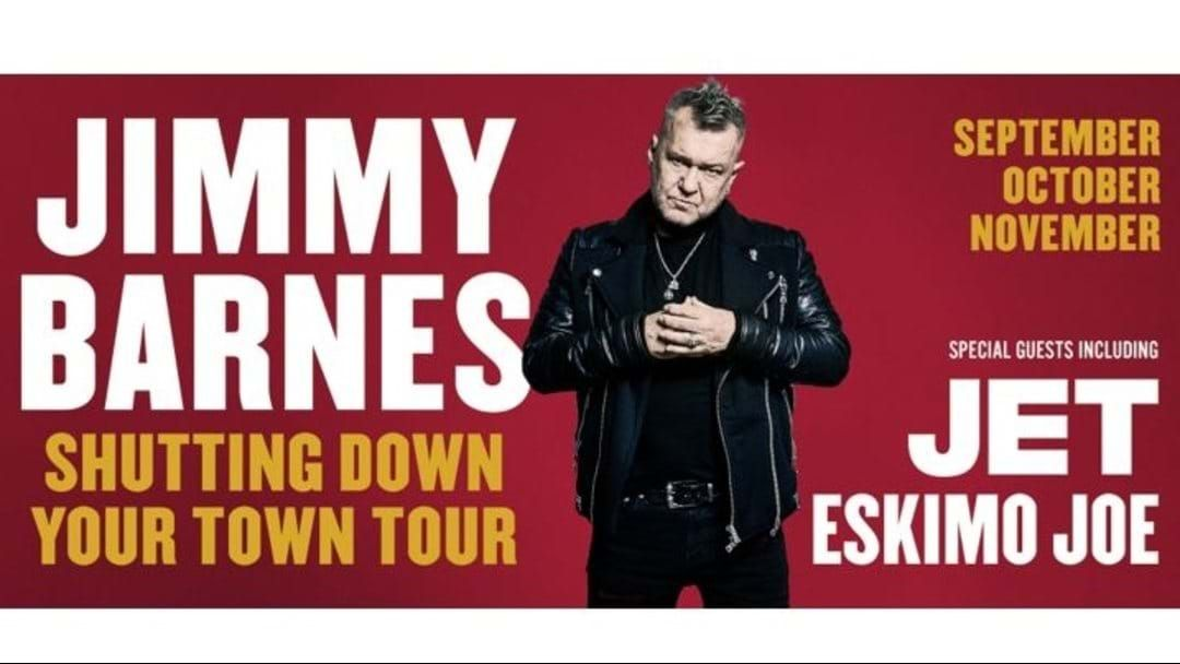 Article heading image for Jimmy Barnes Upgrades Melbourne Venue On His Shutting Down Your Town National Tour