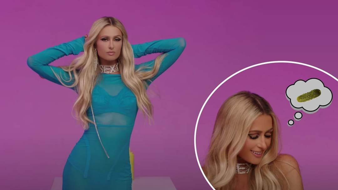 Article heading image for Paris Hilton Has Dropped A Song About... Pickles