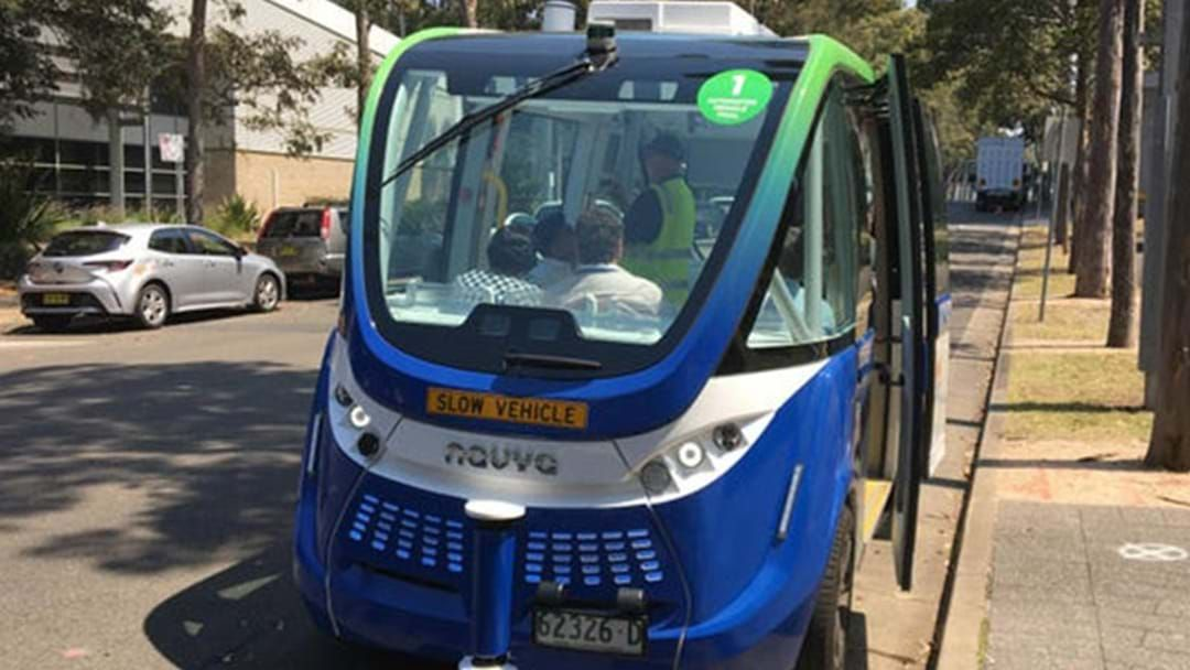 Article heading image for The Future Is Now: Driverless Buses Begin Trial Run In Australia