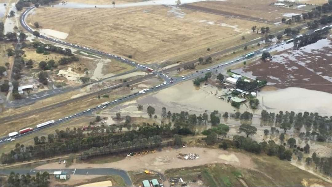 Article heading image for The Latest On The Hume Highway Plus Flood Watch Advice