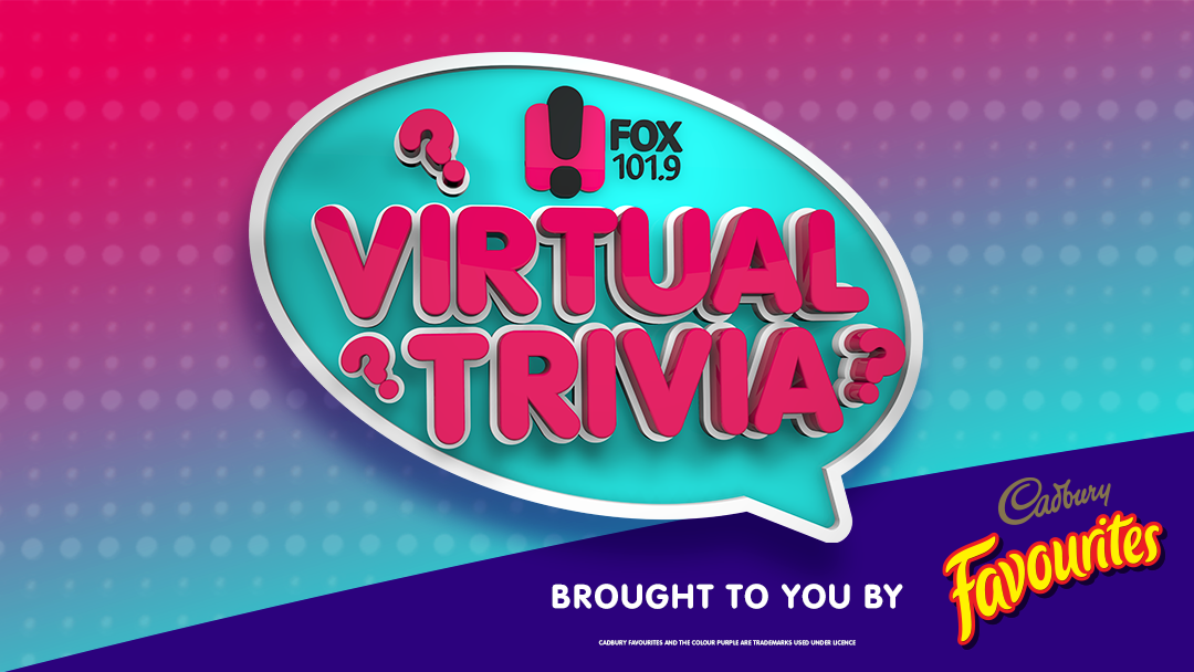 Competition heading image for Fox's Virtual Trivia thanks to Cadbury Favourites