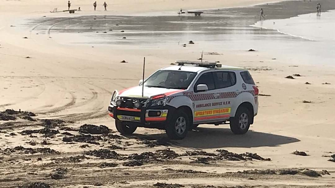 Article heading image for Man Missing, Woman Rescued at Woolgoolga Beach