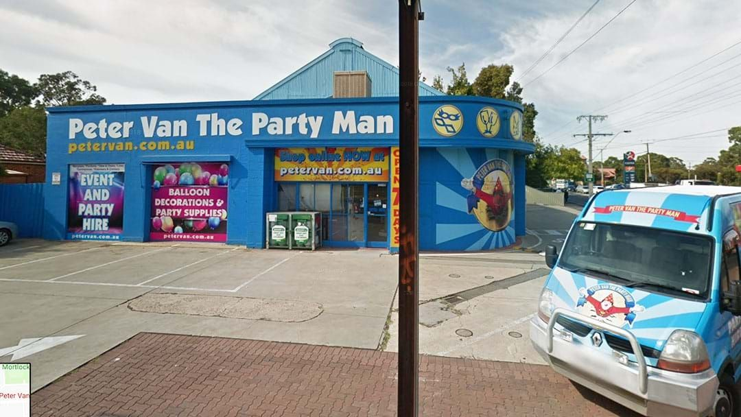 Article heading image for Peter Van Owner Reveals What Will Happen To His Iconic Party Shop