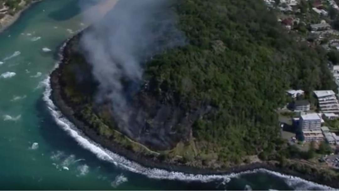 Article heading image for Drone Operator Interrupts Burleigh Firefighting Efforts