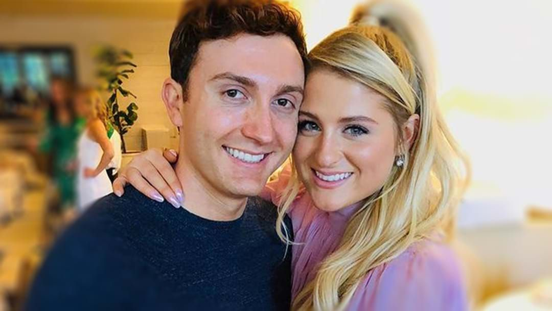 Article heading image for Meghan Trainor & Spy Kids' Daryl Sabara Have Welcomed Their First Child On Valentine's Day!
