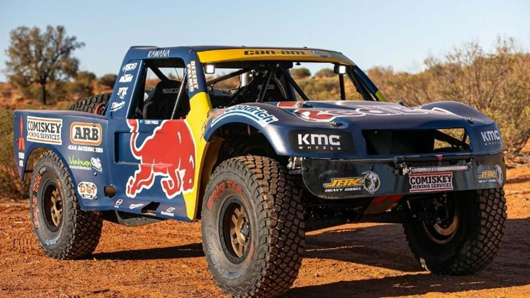 Article heading image for Rally Champ Reveals New Truck For Finke Trophy