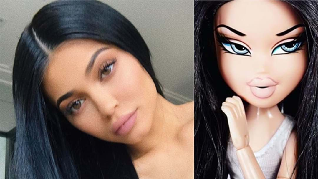 Article heading image for Everyone Thinks Kylie Jenner Looks Like A Bratz Doll