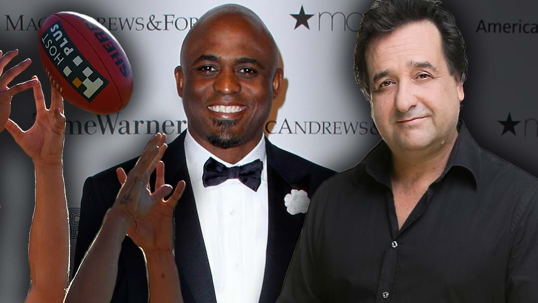 Article heading image for LISTEN | Mick Molloy Drops An Obscure Footy Gag On Wayne Brady