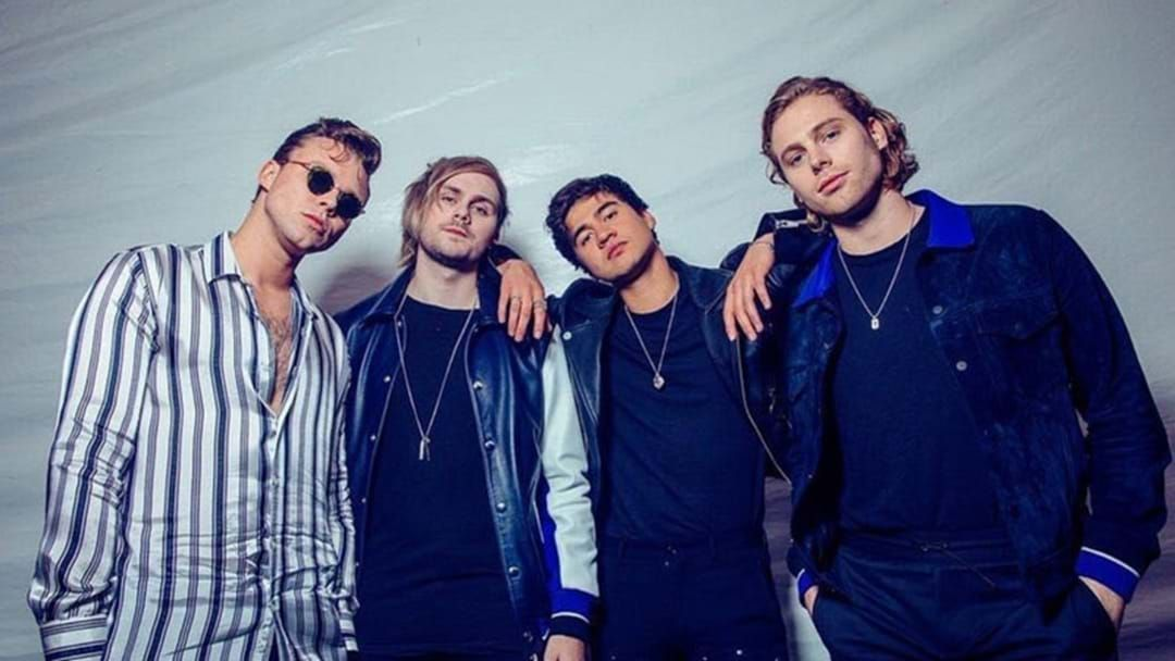 Article heading image for The 5SOS Boys Are Back & Have Lost Their Australian Accents!