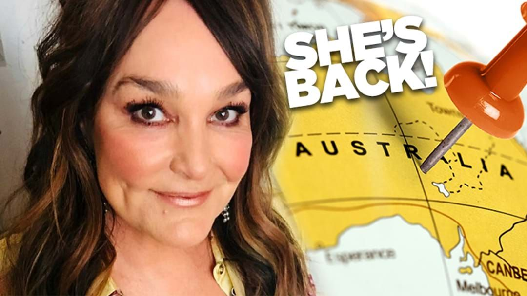Article heading image for Kate Langbroek Has Snuck Back Into Australia Overnight! She Tells Us Why!