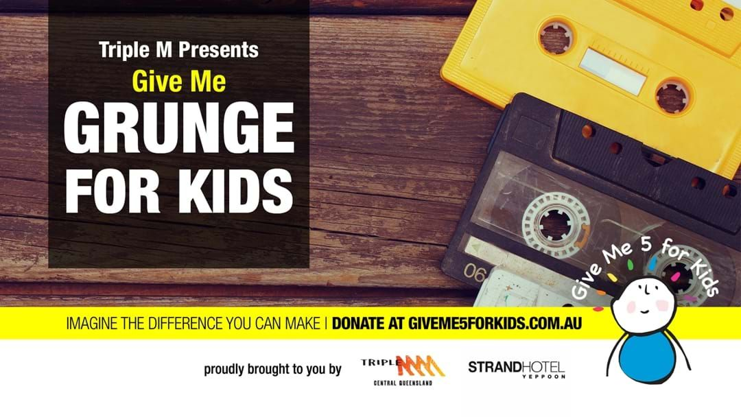 Article heading image for Give Me Grunge For Kids