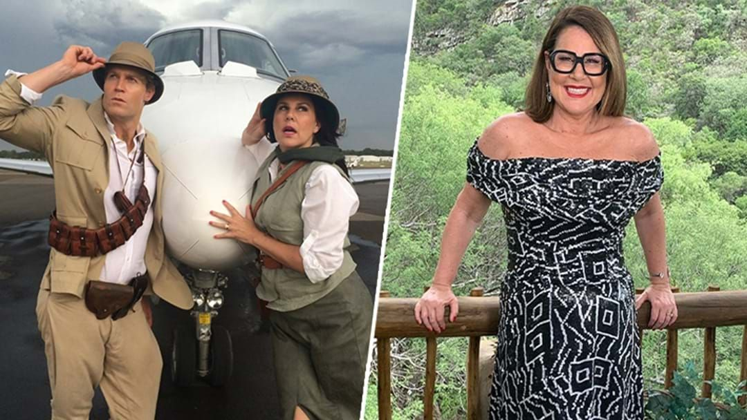 Article heading image for Julia Morris AKA 'The Kitten' Hints At Where 'I'm A Celeb' Will Now Be Filmed