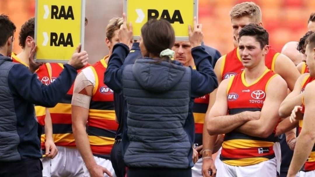Article heading image for AFL To Investigate Crows Over Mask Breach