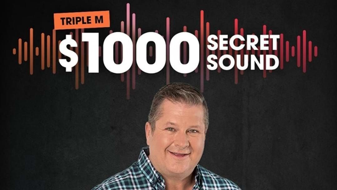 Article heading image for And We Have A Winner - The Secret Sound Went Off This Morning with Lee!