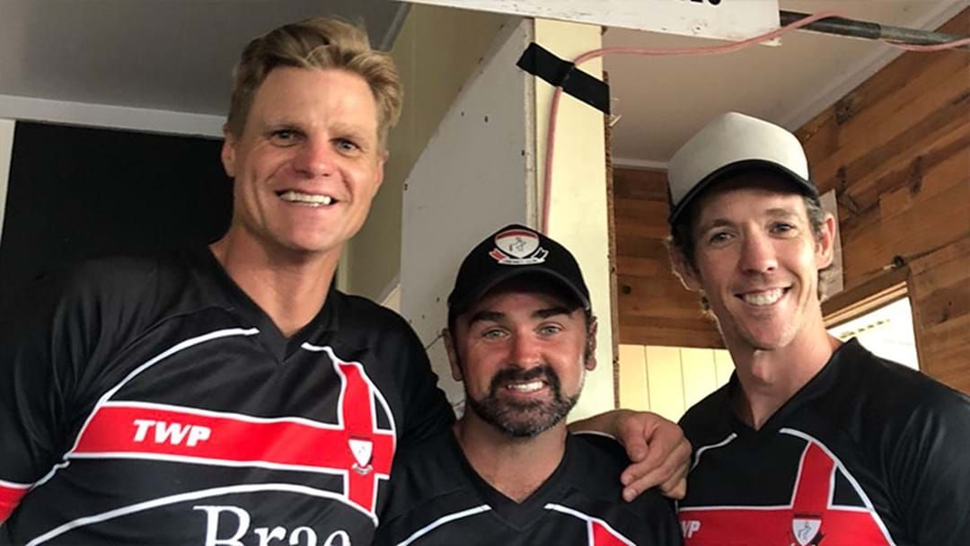 Article heading image for Bob Murphy And Nick Riewoldt Played A Charity Cricket Match Yesterday And Dominated