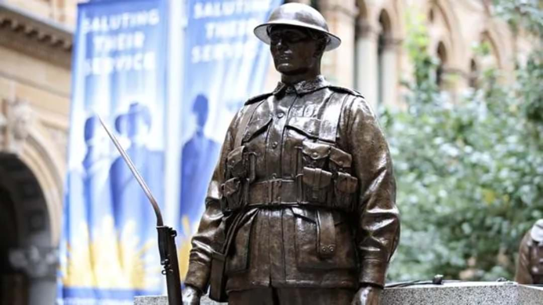 Article heading image for Three Men Arrested Over Act of Vandalism at Martin Place Cenotaph