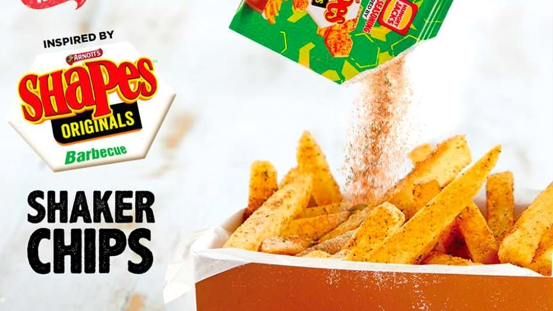 Article heading image for Hungry Jack's Has Dropped Barbecue Shapes Shaker Chips On Their Menu