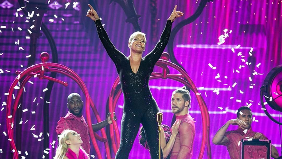 Article heading image for If You Want To Be Up The Front At P!nk's Concert, Here's The One Thing You Need To Know